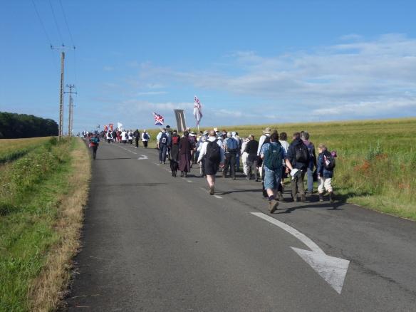Chartres Pilgrims